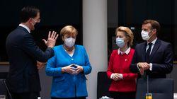Merkel, Macron, Sánchez y Conte se reúnen con el primer ministro de Holanda para tratar de desbloquear la