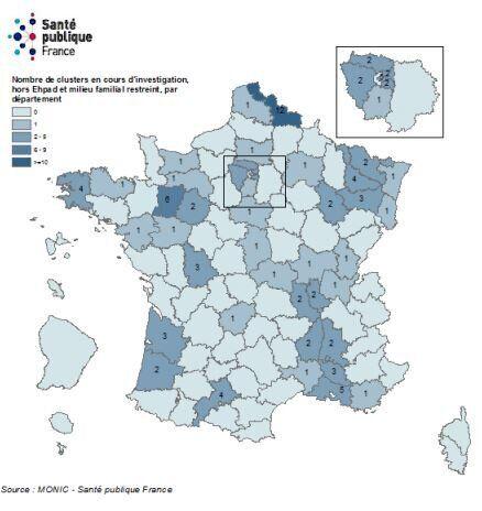 Coronavirus: où les nouveaux clusters se créent-ils le