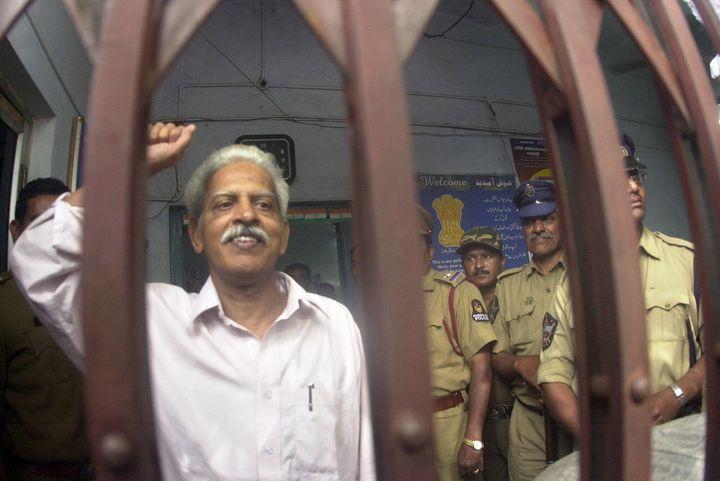 Varavara Rao in a file photo from 2005.