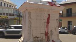 La statue de l'abolitionniste Schoelcher renversée à