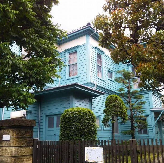 東京・世田谷の旧尾崎行雄邸(保存プロジェクト提供)