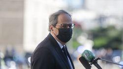 Torra estudia presentar una denuncia por corrupción contra Juan Carlos