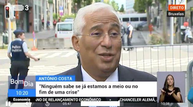 António Costa, primer ministro de