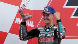 Fabio Quartararo, premier français à gagner le grand prix moto d'Espagne depuis