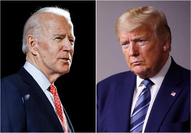 Donald Trump continue de payer cher sa gestion jugée mauvaise de la crise du Covid-19 aux Etats-Unis,...