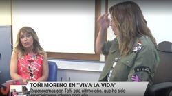 El 'corte' de Toñi Moreno que ha dejado con esta cara a Emma García en 'Viva La