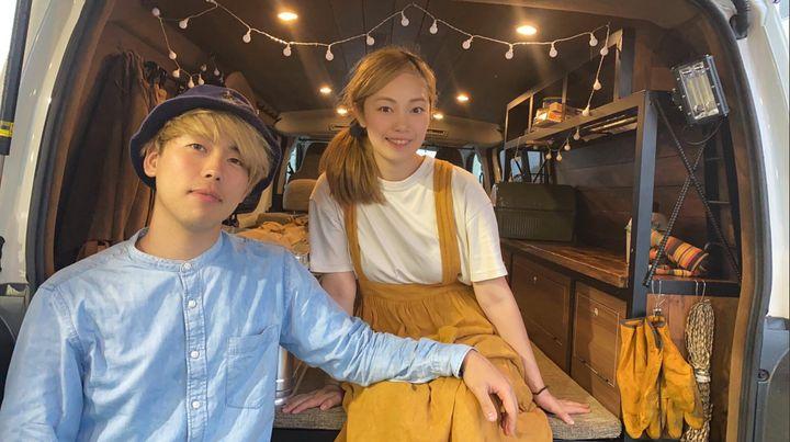 菅原拓也さんと菅原恵利さん