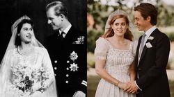 할머니 '엘리자베스 여왕' 드레스 입고 결혼식 올린 손녀