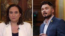 Ada Colau se defiende del ataque de Gabriel Rufián y le devuelve la