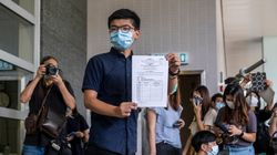 Joshua Wong, leader della protesta a Hong Kong, si candida alle