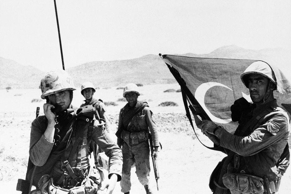 Τούρκοι στρατιώτες...