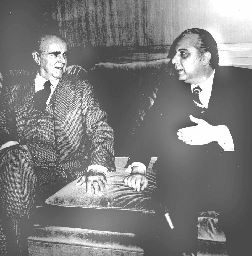 1979/Συνάντηση Καραμανλή -