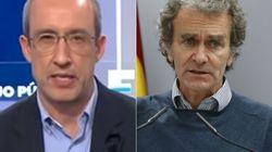 Alfonso Egea ('Espejo Público'), muy contundente sobre Fernando Simón tras su viaje a