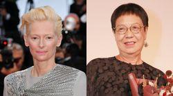 La británica Tilda Swinton y la hongkonesa Ann Hui, León de Oro de