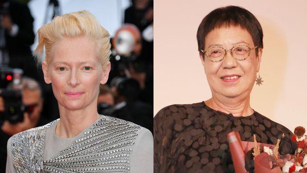 Tilda Swinton y Ann Hui, premiadas con el León de