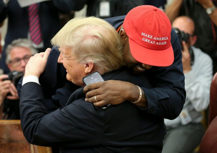 En octubre de 2018, con Donald Trump en la Casa Blanca.