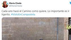 La impactante imagen que vio una periodista de Antena 3 en el Camino de