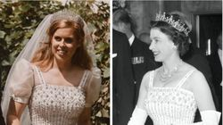 Princess Beatrice Borrows Vintage Dress From Queen Elizabeth For Her Surprise