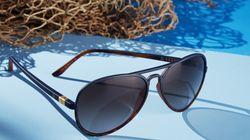 Des montures de lunettes composées à 100% de déchets plastiques