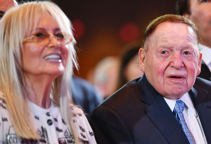 Sheldon Adelson typically gives tens of millions of dollars to Republican groups, but this cycle's donation came earlie