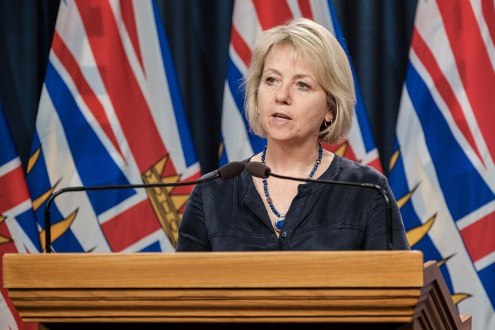 Dr. Bonnie Henry gives an update on the COVID-19 situation in B.C. on July 17.