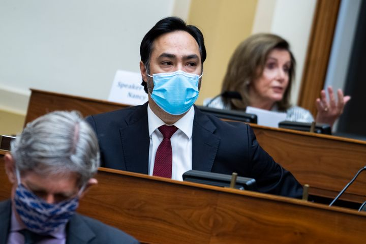"""Rep. Joaquin Castro (D-Texas) said it's time for """"a more inclusive process"""" as House leaders select a new chair for the Forei"""