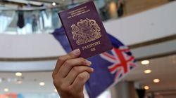 영국이 홍콩과의 범죄인 인도조약을 무기한