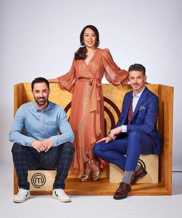 'Junior MasterChef Australia' judges Andy Allen, Melissa Leong and Jock