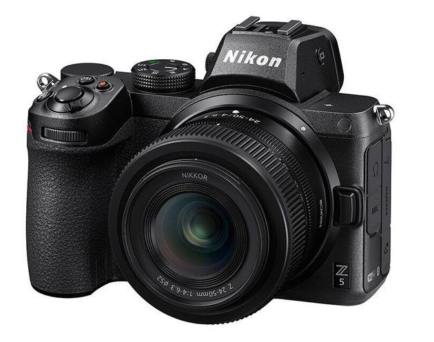 Nikon Z5。キットレンズの「NIKKOR Z 24-50mm