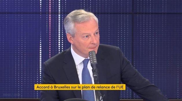 La France pourra disposer de 40 milliards d'euros de subventions dans le cadre du plan de relance européen...