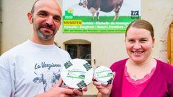 Ces éleveurs ont créé un nouveau fromage sans le vouloir grâce au
