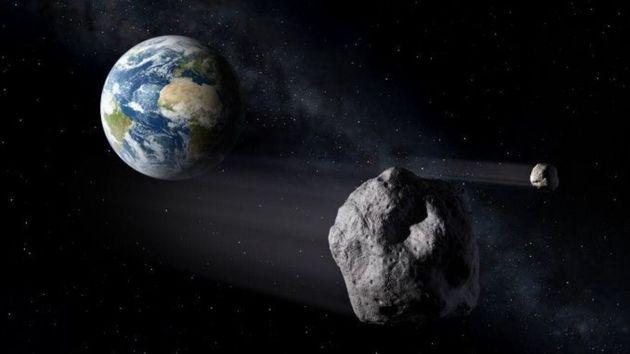 Asteroide se aproxima a la