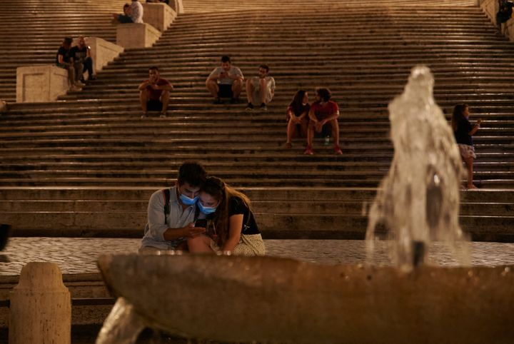 Plaza de España, Roma (Italia), el 9 de julio de 2020.
