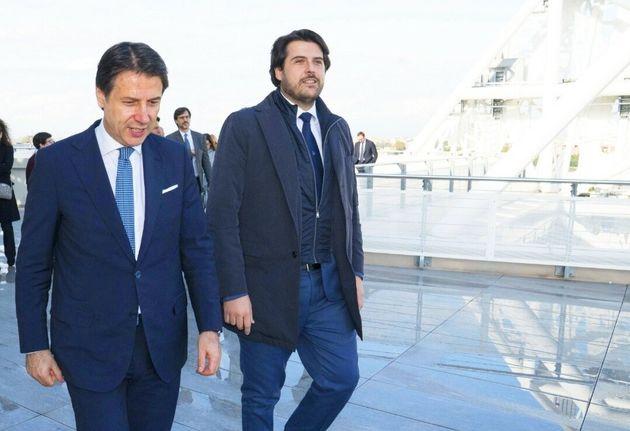 Stefano Buffagni con Giuseppe