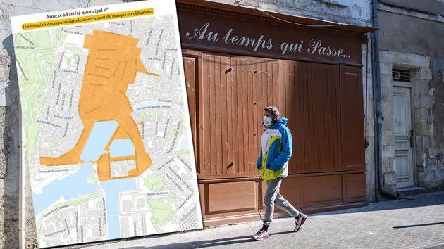 Dans le centre de La Rochelle, le port du masque sera obligatoire à l'extérieur à...