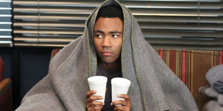 """Donald Glover in """"Community"""" on Netflix."""