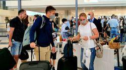 Το 19% των τουριστών πέρασε από τεστ κορονοϊού στα διεθνή αεροδρόμια του Νοτίου