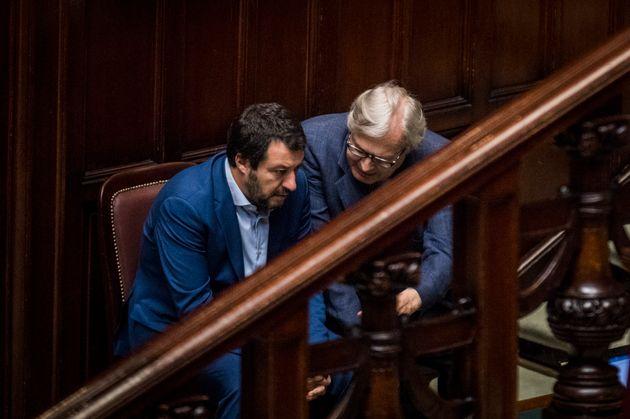 06/06/2018 Roma, Aula Della Camera, voto di fiducia al governo di M5S e Lega, nella foto il ministro...