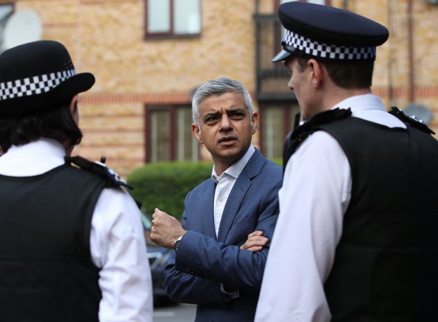 Sadiq Khan Points Out Massive Flaw In Governments New Pay Rises For Police Officers