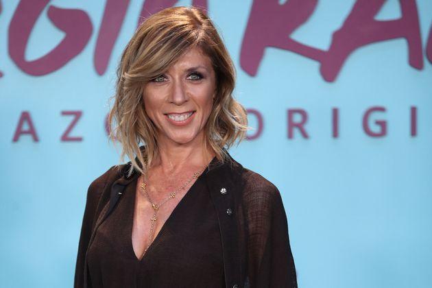 Eva Isanta en la premiere de 'El Corazon de Sergio