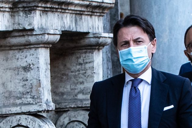 16/07/2020 Roma, il presidente del Consiglio Giuseppe Conte fuori dal