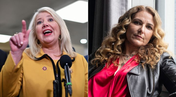 Jen Gunter, right, shot back at Debbie Lesko about her comments on the abortion pill.