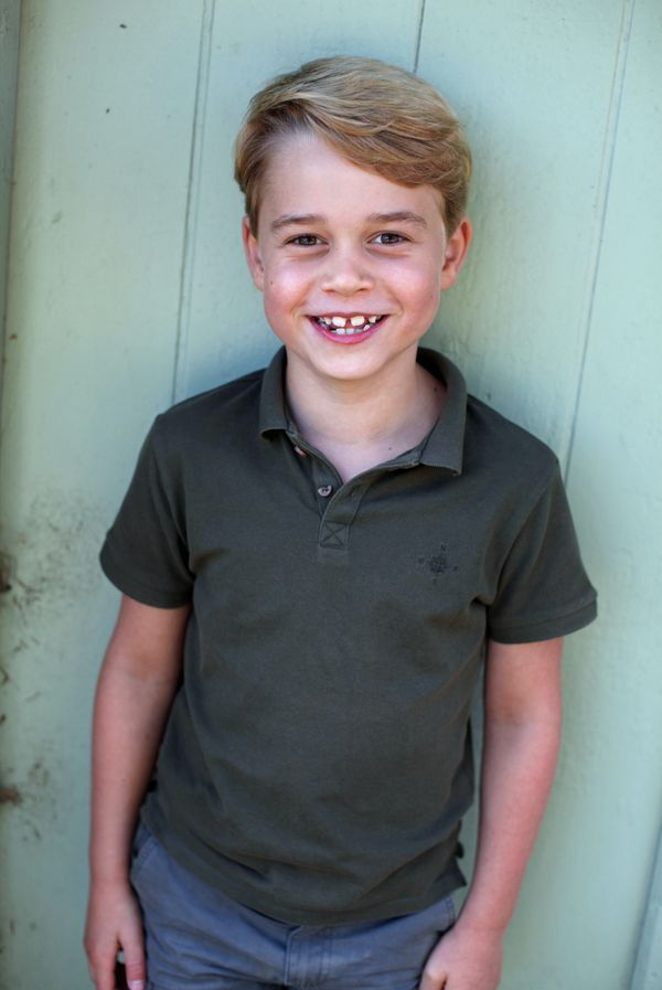 The Duchess of Cambridge took this photo of Prince George in July 2020 honor of his seventh birthday.