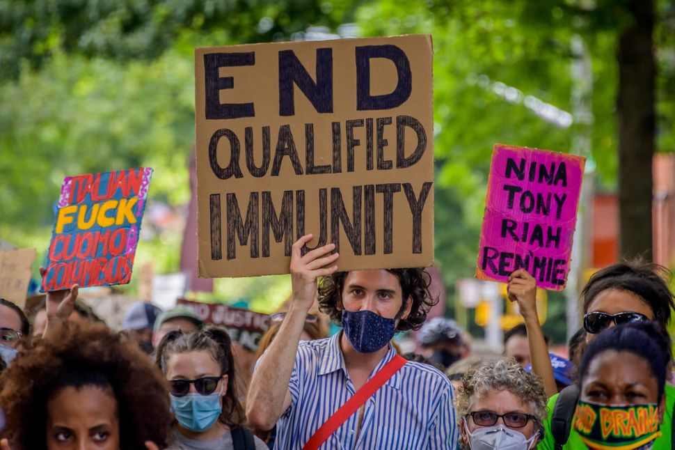 Black Lives Matter protestors have called for the end to qualified immunity, the doctrine created by the Supreme Court to pro