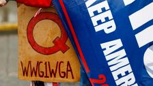 Twitter Bans Thousands Of QAnon Accounts As Part Of Crackdown On Conspiracy Movement  ...