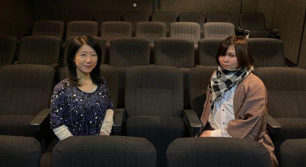 常井美幸監督(左)と小林空雅さん(右)