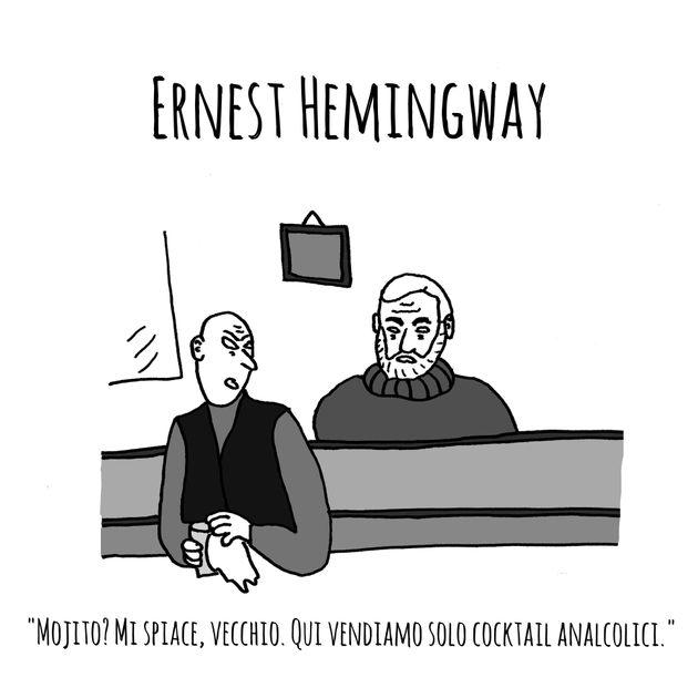 Vecchi scrittori nella vita