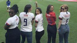Natalie Portman, Serena Williams et d'autres stars lancent une équipe de foot
