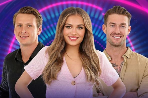 'Big Brother Australia' finalists Daniel Gorringe, Sophie Budack and Chad