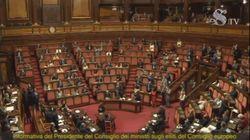 Standing Ovation per Conte prima del suo intervento in Senato sul Recovery Fund